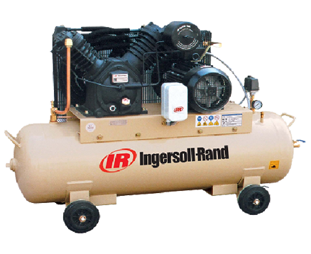 INGERSOLL RAND 8.8BAR Tank Mounted RECIPROCATING COMPRESSORS 2545C10/8-FF SD