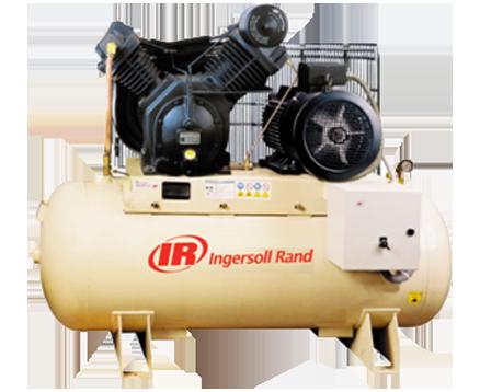 INGERSOLL RAND 12BAR Tank Mounted RECIPROCATING COMPRESSORS 7100D15/12-FF