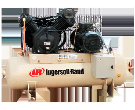 INGERSOLL RAND 8.8BAR Tank Mounted RECIPROCATING COMPRESSORS 7100D15/8 S/D