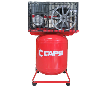 CAPS 2.5HP RECIPROCATING VERTICAL PISTON AIR COMPRESSOR B2800/120V