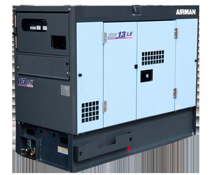 AIRMAN 10.5KVA PRIME POWER GENERATORS WITH EXTENDED TANK SDG13LX-5B1N
