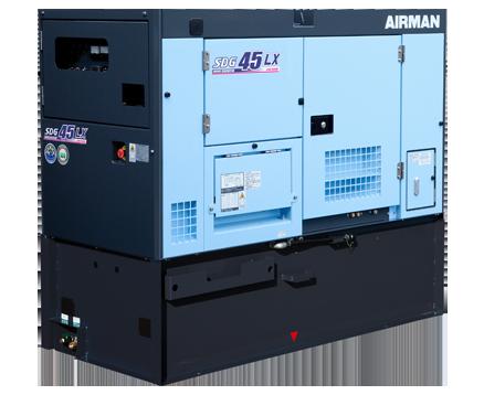 AIRMAN 37KVA PRIME POWER GENERATORS WITH EXTENDED TANK SDG45LX-5B1N