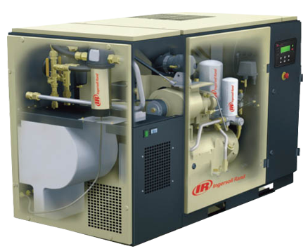 INGERSOLL RAND UP SERIES 22KW ROTARY SCREW COMPRESSORS WITH INTEGRAL DRYER UP5-22TAS-10