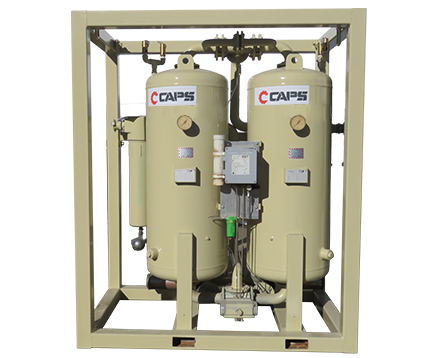 FST DESICCANT AIR DRYERS IN FRAME DPS210