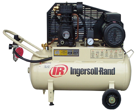 INGERSOLL RAND SCD ELITE SERIES Tank Mounted RECIPROCATING COMPRESSORS EL12