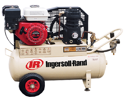 INGERSOLL RAND SCD ELITE SERIES PETROL POWERED Tank Mounted RECIPROCATING COMPRESSORS EL18P