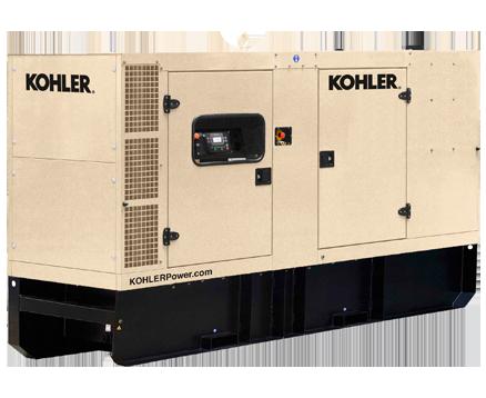 KOHLER 220KVA EXTENDED TANK STANDBY POWER GENERATORS KD220IV-FD02