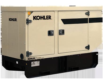 KOHLER 33KVA EXTENDED TANK STANDBY POWER GENERATORS KD33IV-FD02