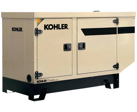 KOHLER 33KVA STANDBY POWER GENERATORS KD33IV