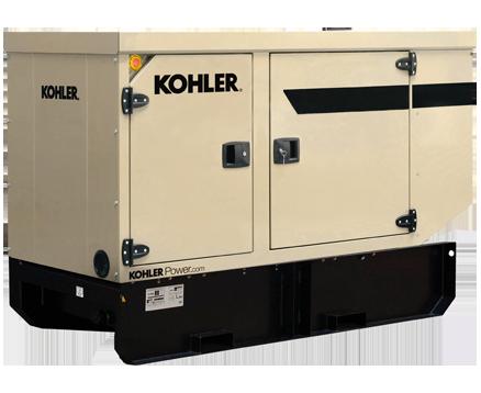 KOHLER 44KVA EXTENDED TANK STANDBY POWER GENERATORS KD44IV-FD02
