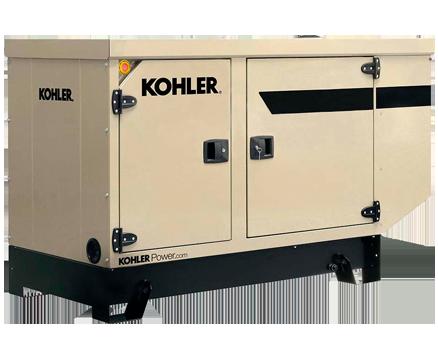 KOHLER 44KVA STANDBY POWER GENERATORS KD44IV