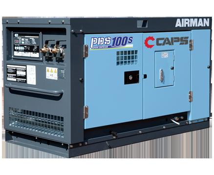 AIRMAN 100CFM BOX-TYPE PORTABLE DIESEL COMPRESSORS PDS100S-5C5