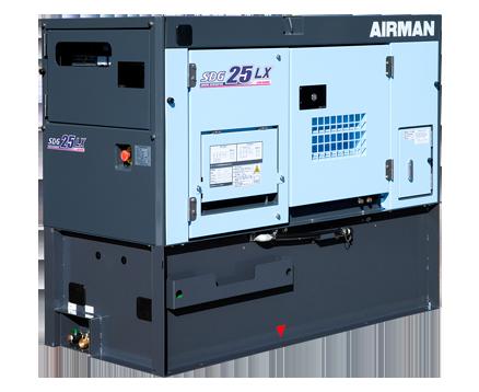 AIRMAN 20KVA PRIME POWER GENERATORS WITH EXTENDED TANK SDG25LX-5B1N
