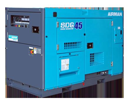 AIRMAN 37KVA PRIME POWER GENERATORS SDG45SE-3B2N